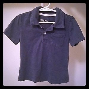 Boy's 3T Blue Polo With Front Pocket